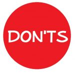 donts